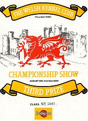 The Welsh Kennel Club Championship Show